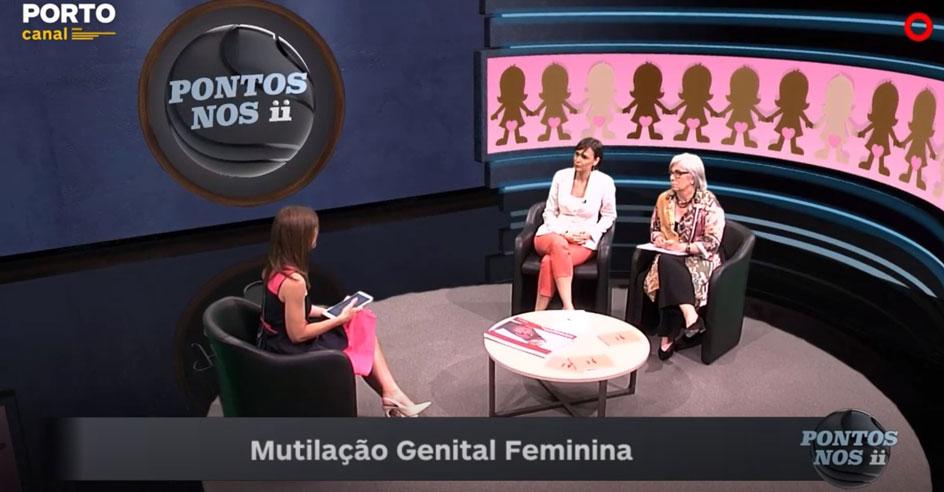 """Teresa Fragoso, presidente da CIG e Alice Frade da P&D Factor no programa """"Pontos nos ii"""""""