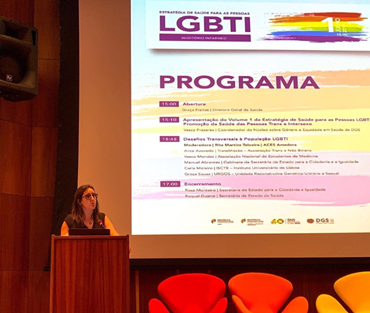 Estratégia de Saúde para as pessoas LGBTI