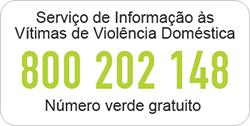 Serviço de Informação às Vítimas de Violência Doméstica - 800 202 148