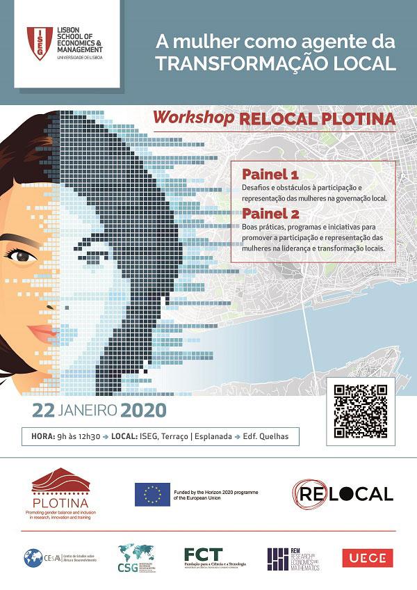 """CIG participa no Workshop """"A mulher como Agente de Transformação Local"""""""