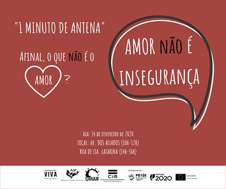 Dia dos Namorados – atividades da UMAR, 14 e 15 de Fevereiro – Porto e Lisboa
