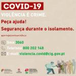 Covid-19 | Informação de segurança durante o isolamento