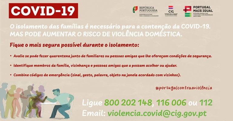 Covid-19 – Segurança durante o isolamento. A violência doméstica é crime público