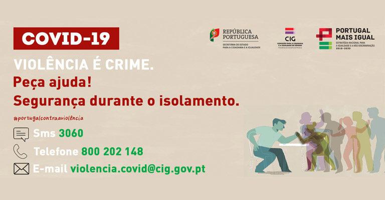 Covid-19: Informação de segurança durante o isolamento