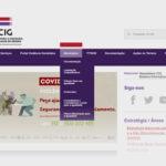 """Novo separador """"Municípios"""" no site da CIG"""