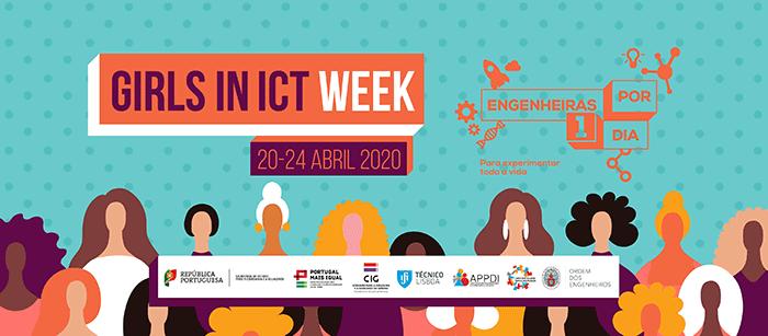 Engenheiras Por Um Dia | Atividades digitais com mais de 70 mulheres em profissões tecnológicas para assinalar o Girl in ICT Day