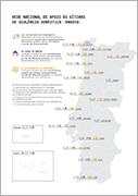 """Infografia """"Rede Nacional de Apoio às Vítimas de Violência Doméstica""""[Publicação CIG]"""