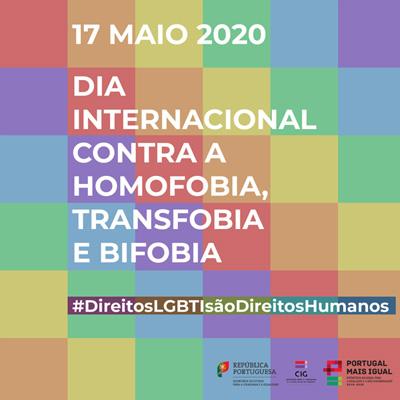 Dia Internacional de Luta contra a Homofobia, Transfobia e Bifobia - Campanha #DireitosLGBTISãoDireitosHumanos