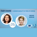 "Webinar ""Fair Share – Gender equality in times of corona"", 17 de junho"