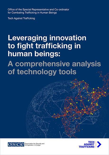 OSCE lança estudo inovador que analisa mais de 300 ferramentas tecnológicas de combate ao tráfico de seres humanos