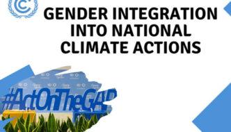Género e alterações climáticas