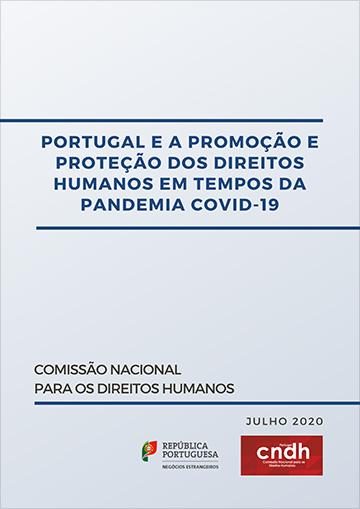 """Lançado o documento """"Portugal e a Promoção e Proteção dos Direitos Humanos em Tempos de Pandemia de COVID-19"""""""