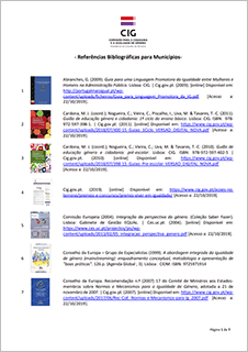 Referências Bibliográficas para Municípios