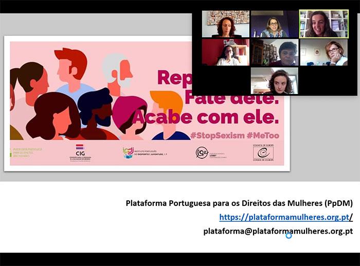 Mobiliza-te Contra o Sexismo! com o Instituto Nacional para a Reabilitação