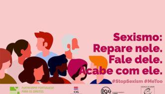 Sessão sobre o Sexismo no Instituto Nacional para a Reabilitação