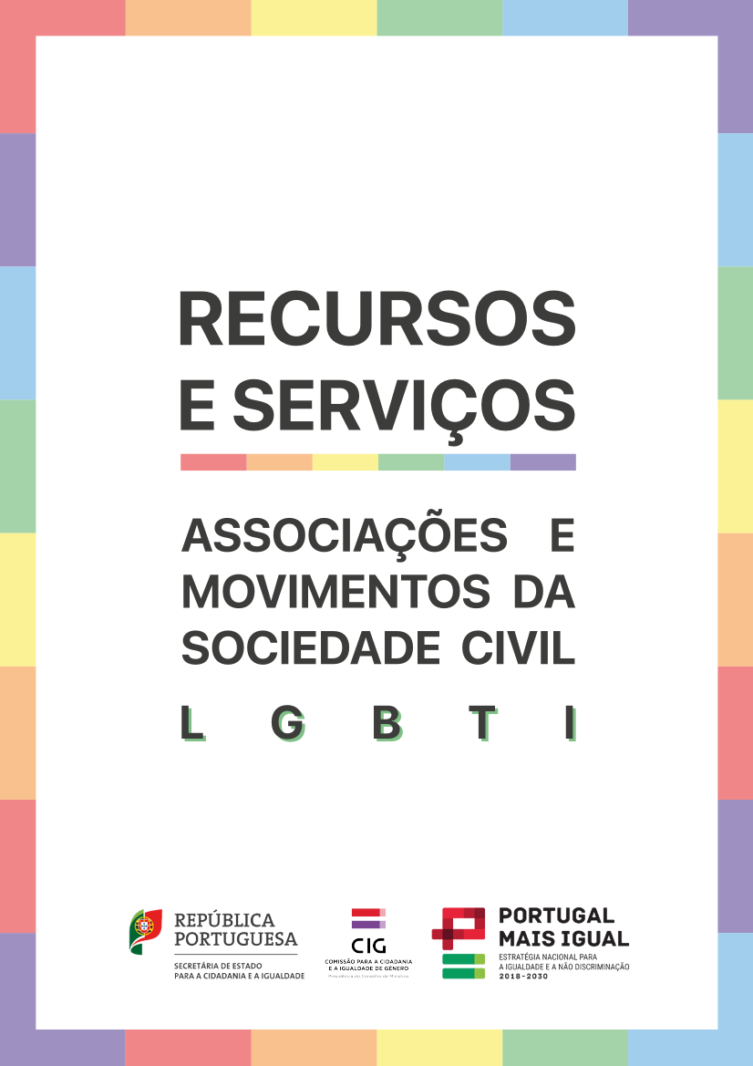 Recursos e Serviços - Associações e Movimentos da Sociedade Civil - LGBTI