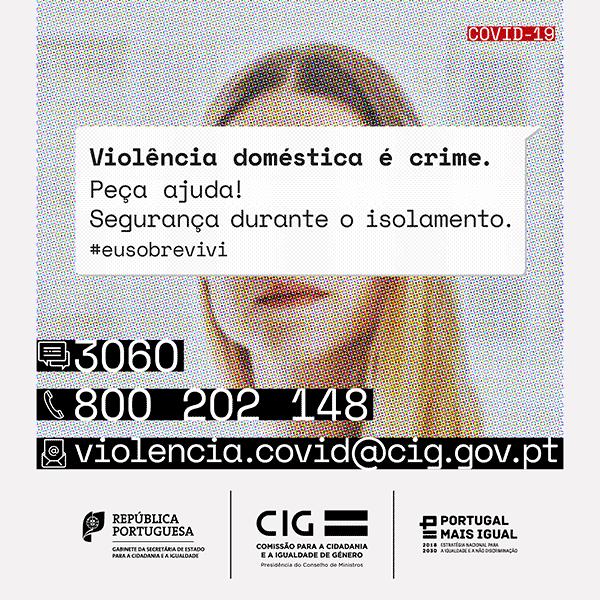 Campanha #EuSobrevivi | Cartões de alerta em 8 idiomas