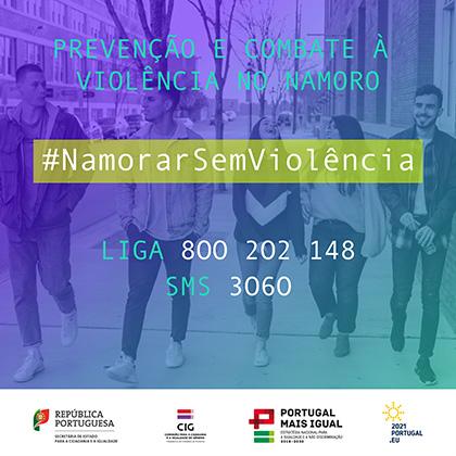 Campanha #NamorarSemViolência (2021) Facebook/Instagram - 2048x2048