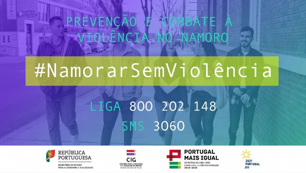 Campanha de prevenção e combate à violência no namoro #NamorarSemViolência